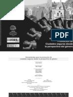 Herramientas para la promoción de ciudades seguras desde la perspectiva de género