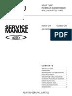 Service Manual Asyg12leca