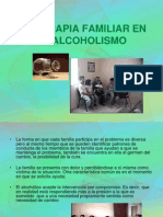 La Terapia Familiar en El Alcoholismo