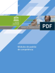 Padrões de competência em TIC para professores - Módulos de padrão de competência