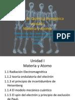 Apuntes Unidad I Materia y Atomo