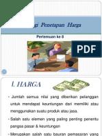 VIII. Strategi  Penetapan  Harga.pptx