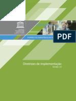 Padrões de competência em TIC para professores - Diretrizes de implementação
