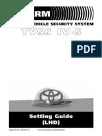TVSS setting guide for TVSS IV-S  LHD T4SLSET-2-0-F.pdf