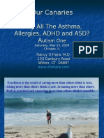 Why All The Asthma, Allergies, ADHD and ASD?