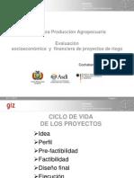 PRESENTACION  Evaluación socioecon y financiera-Riego, (ROA)ro