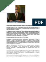 AFONSO PINHÃO FERREIRA CONFIRMADO PRESIDENTE DA ASSEMBLEIA MUNICIPAL