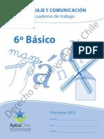 Cuaderno de Trabajo 6 Basico II Semestre 2013