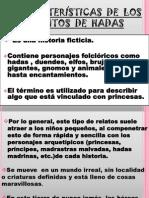 CARACTERÍSTICAS DE LOS CUENTOS DE HADAS