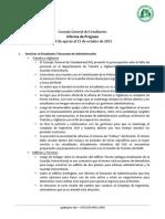 Informe de Trabajo octubre 2013