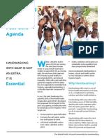 Handwashing & WASH in the Post-2015 Agenda