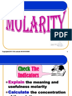SITI AMINAH LESSON PLAN KD 3.1 XI CLASS  ABOUT MOLARITY NEW.ppt