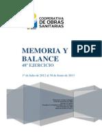 Memoria Y Balance Nro 48