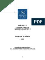 Guias de Quimica Analitica II USC 2011B