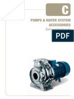 Pumps and Water System Accessories