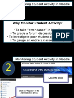 Moodle Checking Student Activity