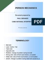 3-Person Mechanics Fiba Amended 2008 Alberta Clinic