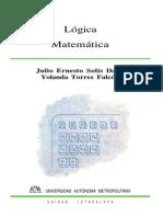 Logica Matematica Solis Daun Julio Enesto