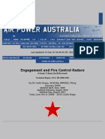 Engagement and Fire Control Radars (S-Band, X-band)