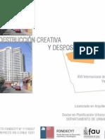 PRES-Sochigeo 2011_Meza Daniel_Destruccion Creativa y Desposesion de Renta-Irarrazaval Poniente
