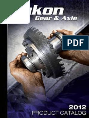 Yukon Gear /& Axle YA D27902-22X Axle Front Inner Left