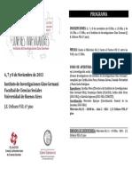 Programa 7mas Jornadas IIGG FINAL