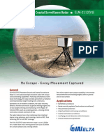 Persistent Ground & Coastal Surveillance Radar - ELM-2112(V5)