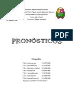 Exposi i Trabajo de Pronosticos Adm. Ind. II Definitivo