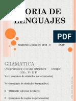 Teoria de Lenguajes