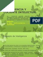 Inteligencia y Creatividad