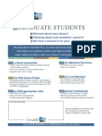 Versatile Ph.D. flyer (Western Michigan)