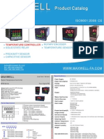 Maxwell Catalog-Temperature Controller