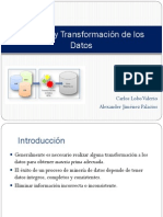 Limpieza y transformación de datos (ETL)
