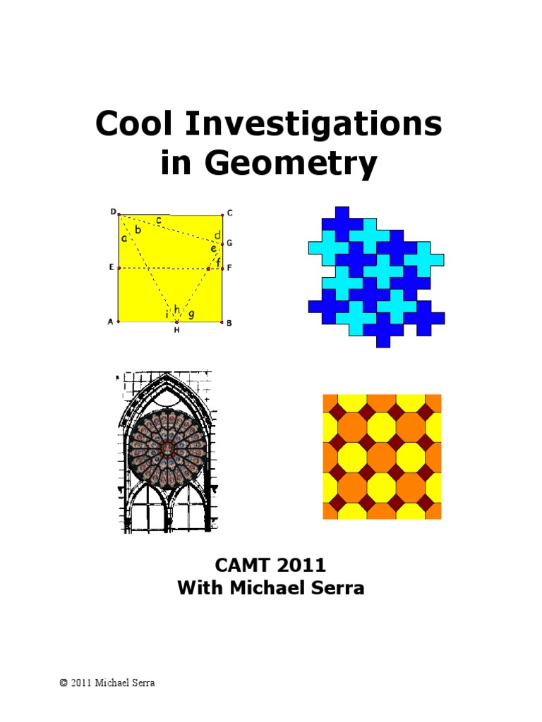 Investigations in geometry