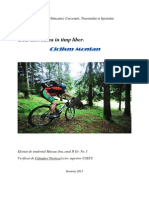 ciclism montan