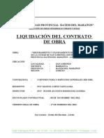 LIQUIDACION MACALO