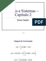 Wanderleycardoso-capitulo2 Sinais e Sistemas - Aula07