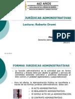 01. Clase 05, Formas jurídicas administrativas (1)