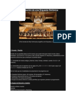 Proyecto de Creación de una Orquesta Sinfónica