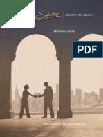 Signature Bank 2011 Annual Report