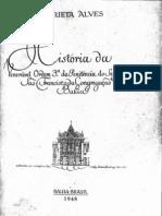 Historia da Ordem Terceira de São Francisco na Bahia