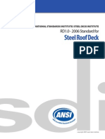 ANSI RD1.0_2006 - Standard for Steel Roof Deck
