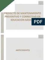 Proyecto de Mantenimiento 2011.pptx