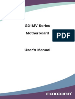 G31MV Series Manual en v1.0