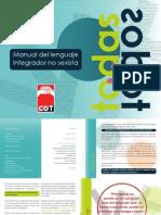 Manual del Lenguaje Integrador No Sexista