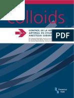 InfoColloids 1 -  CONTROL DE LA HIPOTENSIÓN ARTERIAL EN CESÁREAS BAJO ANESTESIA SUBARACNOIDEA - Sep 07