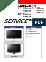 9619 Samsung Chassis U57E Chassis U57F Chassis U56G Televisor LED-LCD Manual de Servicio
