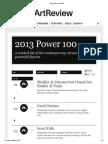 Power 100 _ Art Review