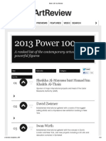 Power 100 _ Art Review