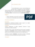 Taxonomia, Sistematica e Cladogramas